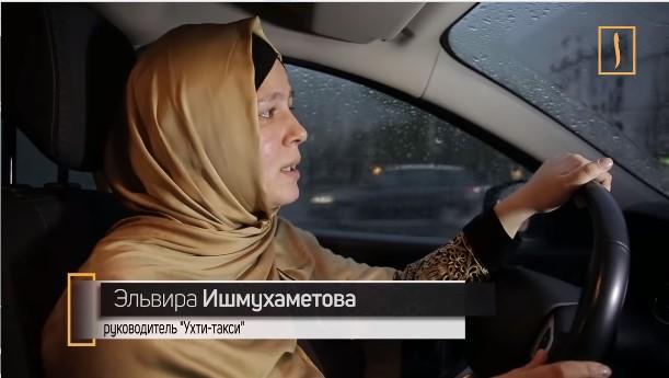 московская мусульманка Эльвира Ишмухаметова