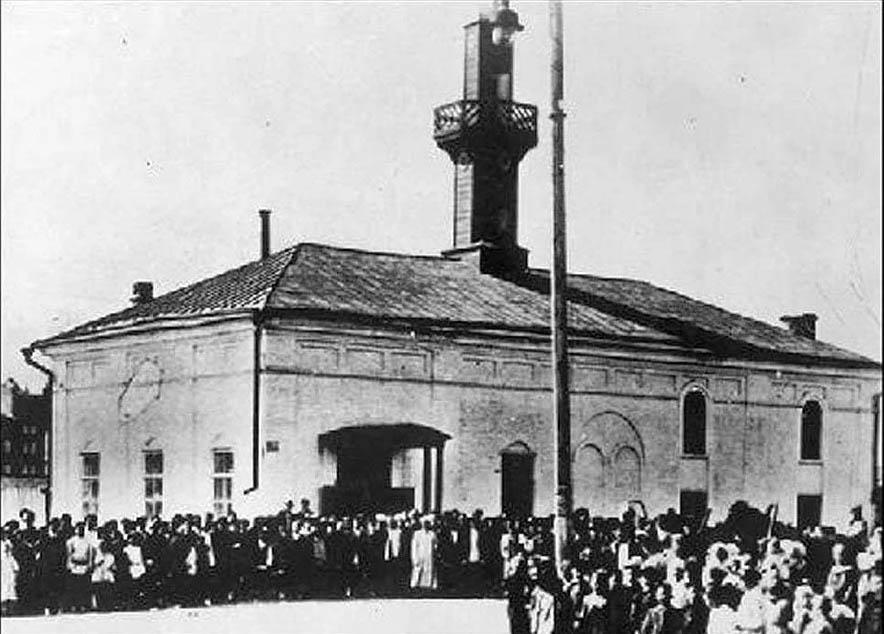 Саратовская мечеть, снесенная коммунистами