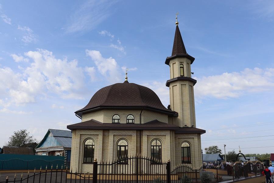 Мечеть Татарское Бурнаево Татарстан
