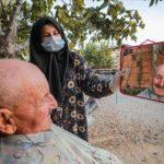 Студентка-мусульманка из Анталии помогает старикам в пандемию